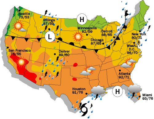 webmap Weather National